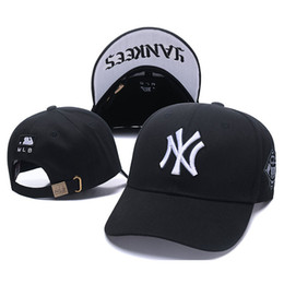 China NY peaked cap Multicolor Hip Hop Baseball 100% cotton Caps Embroider Lovers Fashion Casual Adjustable Snapback Hats Men Women Visor supplier cap ny baseball snapback suppliers