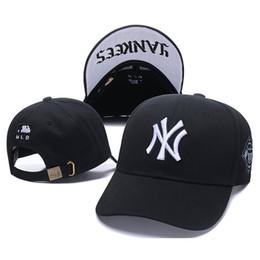 Cap ny baseball snapbaCk online shopping - NY peaked cap Multicolor Hip Hop Baseball cotton Caps Embroider Lovers Fashion Casual Adjustable Snapback Hats Men Women Visor