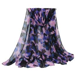 Chinese  5 Colors Floral Linen Designer Scarf 180cm*90cm Women Hijab Shawls Pashmina Head Wrap Scarves Table Blanket Beach Towel manufacturers