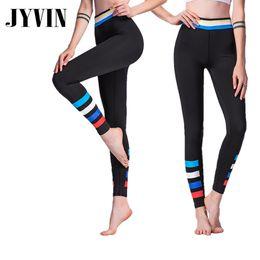 Women S Yoga Pants Wholesale NZ - Fitness Yoga Top Women Sportswear Yoga Pants Sport Pants High Waist Running Tights Gym Leggings Leggings Compression Tights