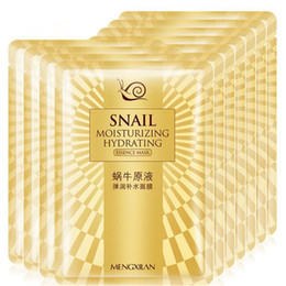 NourishiNg mask online shopping - Snail Facial Mask Silk Moisturizing Nourish Comestic Sheet Skin Care Face Products Deep Cleansing Beauty Mask up