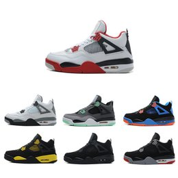 more photos fbd17 ee644 2018 New Kyrie Irving 4 Basketball Shoes for Cheap Sale Sneakers Sports  Mens Shoe Wolf Grey Team Red Outdoor Trainers Basket Ball Boots