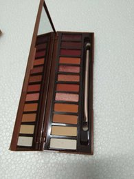 Wholesale 12 Colors Eyeshadow Palettes Matte Eye Shadow Palette High Quality Real Photos Makeup Long lasting Cosmetics