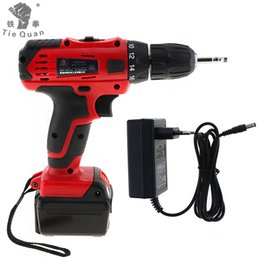 Tools For Drill Australia - 21V Cordless Electric Drill Screwdriver Power Tools with Lithium Battery and Two Speed Adjustment for Handling Screws Punching