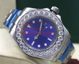 Wholesale pro hunter online – design Luxury Wristwatches New Sapphire SEA mm blue dial NEW PRO HUNTER Large diamond Automatic Mechanical Mens Men s Watch Watches