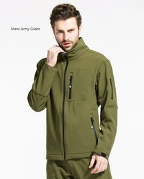 $enCountryForm.capitalKeyWord Australia - Outdoor genuine soft shell stormjacket for men and women winter windproof jacket thickened warm fleece vest sport coat s-3xl