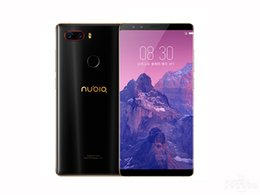 ingrosso telefoni cellulari andoridi-Originale ZTE Nubia Z17S G LTE Phone Cell Phone Snapdragon GB RAM GB ROM ANDORID Schermo intero MP Impronta digitale ID Smart Mobile Phone