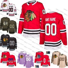 2018 Custom Chicago Blackhawks mens womens youth Green purple Red Fashion  Gold White Red Black Third ice hockey Jersey Stitched S-3XL a3c679dd1
