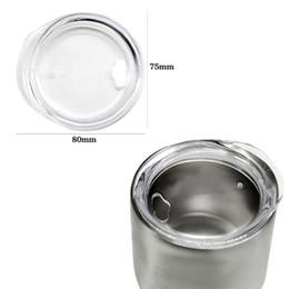 Mug foods online shopping - 9OZ Egg Cups Lids Crystal Food Grade PP Wine Glasses Lid Replaced Vacuum Lid Safe Mugs Covers