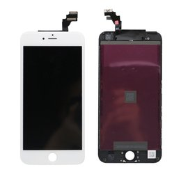 iphone plus white screen Australia - For iPhone 6 Plus LCD Display with Frame Full Touch Digitizer Screen Touch Panel Replacement Parts Assembly High Quality Black White