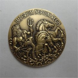 ancient coins NZ - Free Shipping , USN IMPERIUM NEPIUNI REGIS TRUSTY SHELLBACK ANCIENT ORDER OF THE DEEP COIN