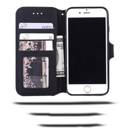 $enCountryForm.capitalKeyWord UK - Top Quality Real Leather Wallet Cases Matte With Card Slot For Iphone 6S 7Plus