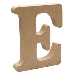 Wholesale 26 Capital Letter DIY Home Decor Wooden Letter Wood English alphabet Wedding Decoration DIY Handcrafts Ornaments Crafts Accessories