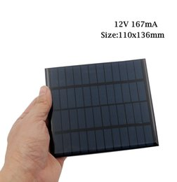 Wholesale solar panels 5W online shopping - 10pcs x Solar Panel V V Mini Solar System DIY For Battery Cell Phone Chargers Portable W W W W W W W W Solar Cell