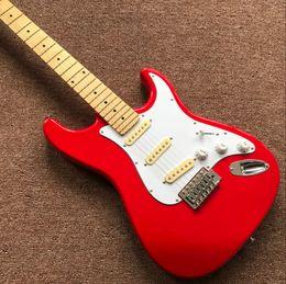 $enCountryForm.capitalKeyWord NZ - Free Shipping 2018 Custom shop ST red electric guitar,Maple fingerboard stratocasterr guitaar,musical instruments handwork 6 Strings guitarr