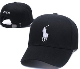 f6480443537 Hot New fashion polo golf hats Brand Hundreds Strap Back men women bone snapback  hat Adjustable casquette sun panel golf sports baseball Cap