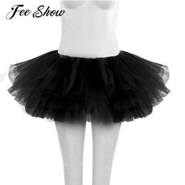 6a1e70009 2017 Women Adults Ballet Tulle Skirt Womens Dancer Multi-layers Ballet  Skirt Womens Dance Clothing Tutu Costume