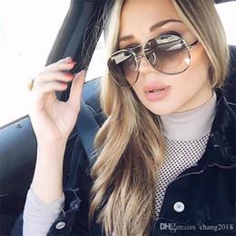 sunglasses for females 2019 - Women Brand Designer Oversized Sunglasses Women Round Vintage Sun Glasses for Men Retro Pink Oculos De Female Gafas D 97
