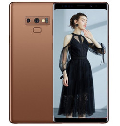 $enCountryForm.capitalKeyWord Canada - ERQIYU Goophone Note9 cell phones shown 4g lte gsm 13.0mp MTK6592 Octa Core 2560*1440 Android 9.0 unlocked 6.4inch GPS Smartphones