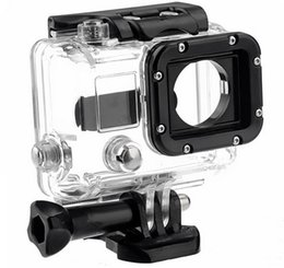 $enCountryForm.capitalKeyWord NZ - for Go Pro Accessories Waterproof Case 45m Underwater Diving Shell Cover Housing Skeleton Frame for Gopro Hero 4 3+
