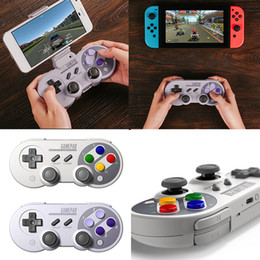 Wireless Usb Game Controller NZ - Game Controller Wireless Bluetooth Gamepad with USB Cable for Mac mode and Nintendo Switch mode Hot Sale