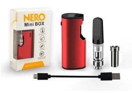vaping starter kits Australia - mini e cigarette 510 mod starter kit thick oil cartridge smoking device vape pen honey oil vaping set variable voltage smoking