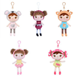 Chinese  18cm Baby Girl Plush Toys Pendant Kids Children Small Stuffed PP Cotton Jibao Dolls Christmas Festival Creative Gifts 11 5pp YY manufacturers