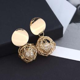 $enCountryForm.capitalKeyWord Australia - Fashion Statement Earrings Ball Geometric Earrings For Women Hanging Dangle Earrings Drop Earing Modern Jewelry 20Pairs Accessories
