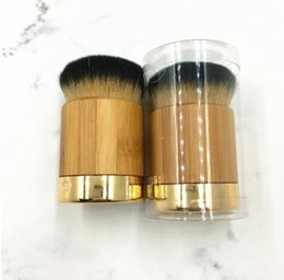 Goat Hair Dhl Australia - HOT Makeup Brush Cosmetic Foundation BB Cream Powder Blush Makeup Tools Black DHL Free shipping