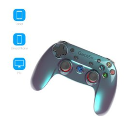 Tablet Wireless Controller Australia - GameSir G3v Wireless Bluetooth Controller Phone Controller for iOS iPhone Android Phone TV Android BOX Tablet PC VR Games Gamepad