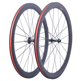 39ebdfa6b63 Factory Sales Super Light carbon bicycle wheelset 700C 50mm Clincher  Tubular Road Carbon Wheelset bike Road wheels