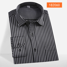 long gold downs 2019 - mens Striped new arrival winter Plaid fashion high quality autumn comfortable long Sleeve Shirts 100% cotton plus size M