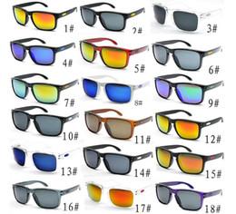 b3107e59bbe3 Venta caliente Baratas gafas de sol para hombres deporte ciclismo Gafas de sol  gafas de sol Desinger deslumbran los espejos de color gafas 18 colores