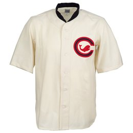 Whale shorts online shopping - Chicago Whales Home Jersey Stitched Embroidery Logos Vintage Baseball Jerseys Custom Any Name Any Number