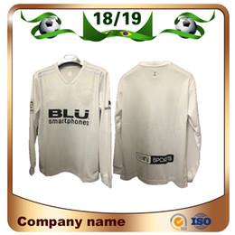 e649a7ad9 18 19 Long sleeve  10 PAREJO Soccer Jerseys 2019 RODRIGO 9 ZAZA Soccer  shirt KONDOGBIA C.SOLER G.GUEDES S.MINA Custom football uniform