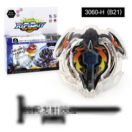 Beyblade Burst NZ - 1 Pcs Beyblade BURST B21 With Launcher And Original Box Metal Plastic Fusion 4D Gift Toys For Children Christmas Gift