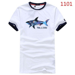 16cb4795a82a NEW Paul SHARK Yachting polo shirts 2018 Italian Brand MEN S FASHION SUMMER  T-Shirt  1101 Italy tops business casual Tees