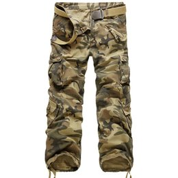 $enCountryForm.capitalKeyWord Canada - New Brand Cargo Pants Men Military Straight Trousers Mens Casual Cotton Camouflage Multi-Pocket Long Pants Camo Washed Trouers Y1892801