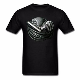 $enCountryForm.capitalKeyWord UK - 2018 New Arrival Harmonica Vintage Bullet Mics Men's T-Shirt 100% Cotton O Neck T-Shirt Male Casual Short Tops Tee
