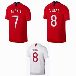 cbe456efe Thai Quality 2018 2019 Chile Soccer Jersey 18 19 home away MEDEL ALEXIS  VALDIVIA VIDAL SALAS football shirts