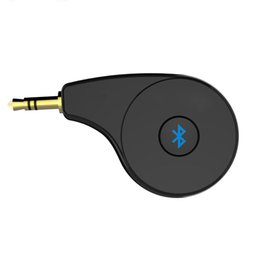$enCountryForm.capitalKeyWord NZ - Bluetooth Audio Receiver Wireless Audio Adapter AUX 3.5mm Plug Output Build in MIC Bluetooth Car Kit Hand-free Calling