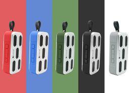 Cheap Waterproof Speakers NZ - Outdoor Bluetooth Speaker Cheap Wireless Subwoofer MP3 Music Player Hiking waterproof Beach Portable Riding Radio Music Players