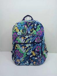 Vb Cotton Fabrics Canada - Old pattern VB Cotton backpack schoolbag children school bag