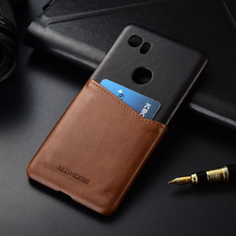 pixel pocket 2019 - wholesale for Google Pixel 2 XL KEZiHOME Two Colors Genuine Leather Hard Back Cover For Google Pixel 2XL 6.0'' w