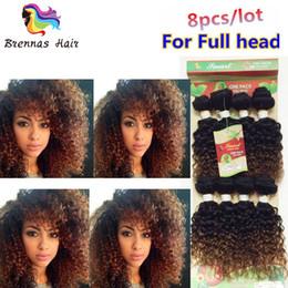 $enCountryForm.capitalKeyWord Australia - 8inch 8pcs Lot Unprocessed Afro Kinky Curly Brazilian Hair Weave Short Mongolian Original Human Hair Extensions Double Weft Tangle Free