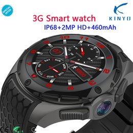 $enCountryForm.capitalKeyWord Australia - New Arrival Android 7.0 MTK 6580 Quad-core Smart watch 1.39 Inch 3G IP68 waterproof Heart rate monitor Call Message Speaker OTV
