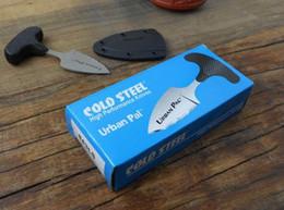 $enCountryForm.capitalKeyWord NZ - Cold steel URBAN PAL 43LS small Fixed blade knife karambit pocket knife tactical hunting survival camping knives EDC tools Free shipping