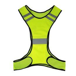 $enCountryForm.capitalKeyWord UK - Y4352Y Lightweight Breathable Mesh Reflective Vest High Visibility Safety Vest Gear for Running Walking