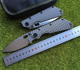 $enCountryForm.capitalKeyWord NZ - YDC SMF Carbon Fiber Titanium Handle D2 Blade Copper Washer Folding Knife Camping Outdoor Tools Knife EDC Tools