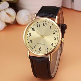 $enCountryForm.capitalKeyWord Australia - Retro Design Clock Watch Men's Black Leather Band Analog Quartz Watch Men Luxury Golden Dial Wrist Watches Business Montre #Zer